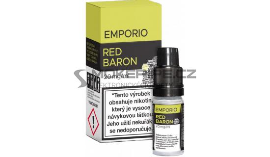 Liquid Emporio Salt: Red Baron (Rybíz, lesní plody a lékořice) 10ml - 20mg