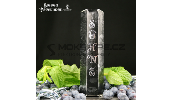 Příchuť 7 Sins Shake & Vape: Pokání / Sühne (Černý rybíz s mentolem) 10ml