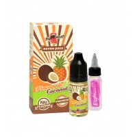 Příchuť Big Mouth Retro Juice: Ananas a kokos (Pineapple & Coconut) 10ml