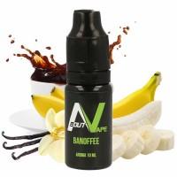 Příchuť About Vape (Bozz): Banofee (Dezert s banány, vanilkou a kávou) 10ml