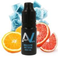 Příchuť About Vape (Bozz) Cool Edition: Bulls Eye (Červený pomeranč, pomeranč a čerstvá máta) 10ml