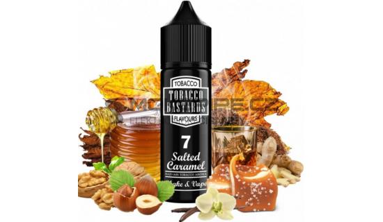 Příchuť Flavormonks Tobacco Bastards Shake & Vape: No.07 Salted Caramel Tobacco 12ml