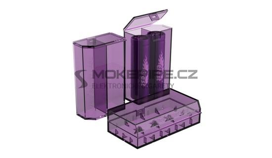 Efest pouzdro pro baterie 18650 V2 - Fialová