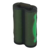Silikonové pouzdro pro 2 baterie 18650 - Černá
