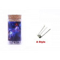 Demon Killer Flame Coil typ A (SS316L 28GA *2 + 38GA, 0.5ohm) - 6ks