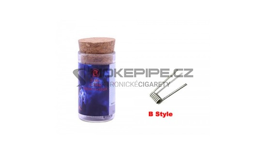 Demon Killer Flame Coil typ B (SS316L 28GA *3 + 38GA, 0.35ohm) - 6ks
