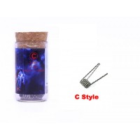 Demon Killer Flame Coil typ C (SS316L (28GA *2) + 38GA, 0.5ohm) - 6ks