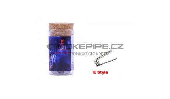 Demon Killer Flame Coil typ E (SS316L 26GA *2 + 38GA, 0.25ohm) - 6ks