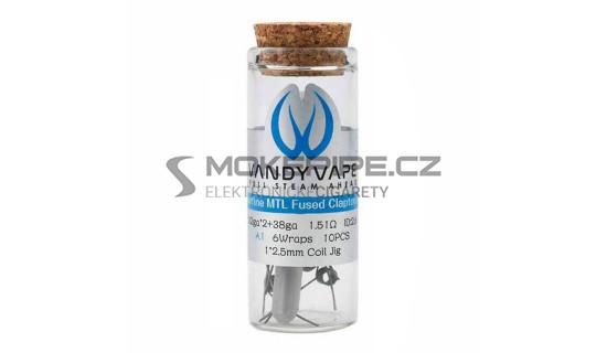 Vandy Vape Superfine MTL předmotané spirálky Ni80 1,51ohm